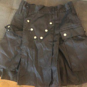 Black Utilikilt, Size 34